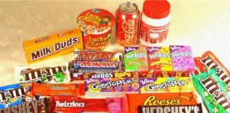 Alcuni degli snack più venduti in America