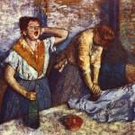 Le stiratrici di Edgar Degas