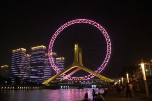 La ruota panoramica di Tientsin