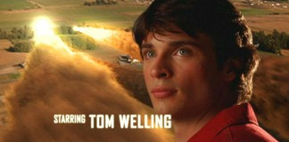 Tom Welling nella sigla di Smallville