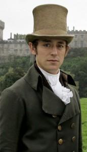 """Henry Tilney, personaggio di """"L'abbazia di Northanger"""", interpretato da J.J. Feild"""