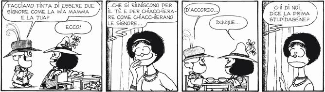 Mafalda e gli adulti