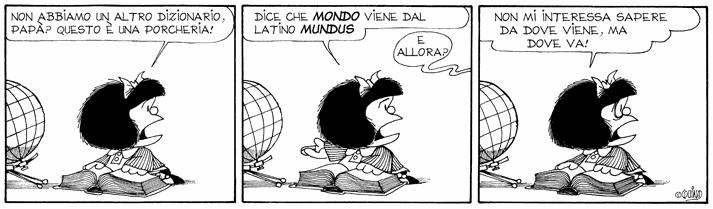 Mafalda e l'avvenire