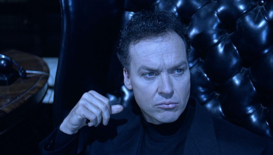Michael Keaton ai tempi in cui interpretava Bruce Wayne