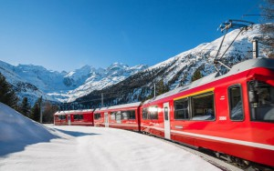 Il trenino del Bernina