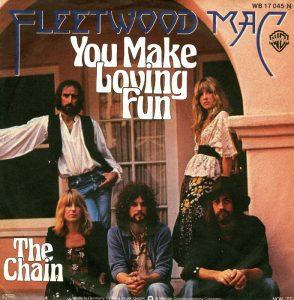Il singolo di You Make Loving Fun, una delle più famose canzoni d'amore rock, firmata dai Fleetwood Mac