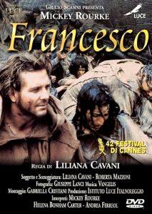 Il Francesco di Liliana Cavani, con Mickey Rourke