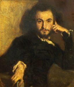 Charles Baudelaire ritratto da Emile Deroy