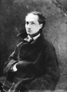 Charles Baudelaire ritratto da Nadar