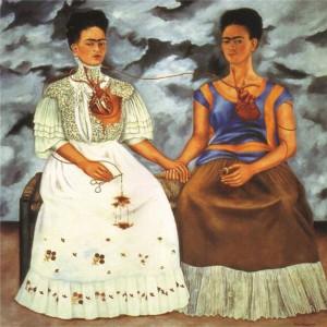 Le due Frida, della Kahlo