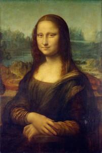 La celeberrima Gioconda di Leonardo da Vinci