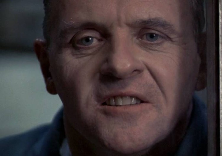 Il celebre sibilo di Hannibal Lecter, ovvero Anthony Hopkins