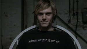 Tate Langdon interpretato da Evan Peters
