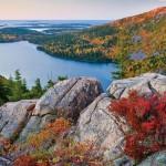 I bei paesaggi dell'Acadia National Park