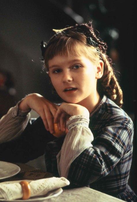 Una piccolissima Kirsten Dunst nei panni di Amy
