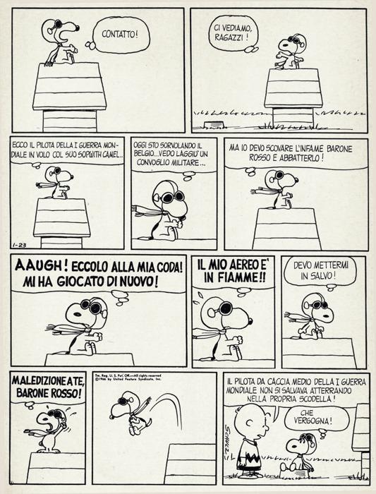Snoopy asso della Prima guerra mondiale