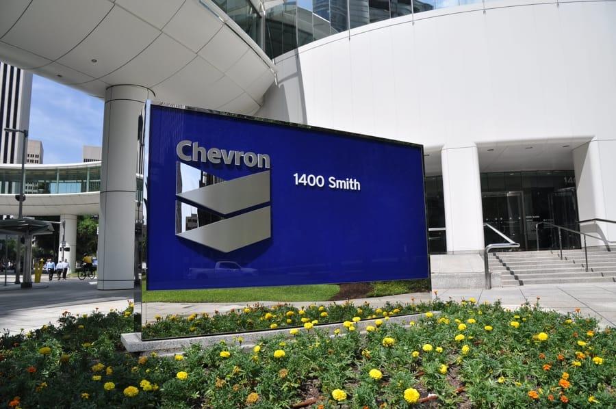 Gli uffici della Chevron a Houston (foto di Jonathan McIntosh via Flickr)