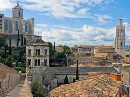 La bella (e poco nota) Girona, in Catalogna