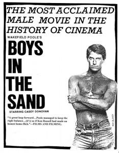 """""""Boys in the Sand"""", il primo porno gay della storia"""