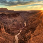 L'inconfondibile paesaggio del Grand Canyon