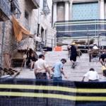 La troupe di Game of Thrones al lavoro nella città catalana