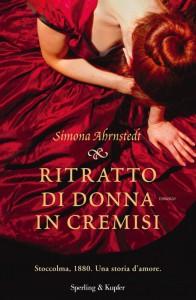 """""""Ritratto di donna in cremisi"""" di Simona Ahrnstedt"""