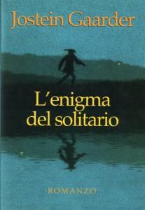 """Una delle copertine italiane de """"L'enigma del solitario"""""""