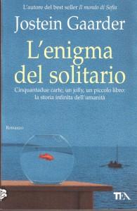 """""""L'enigma del solitario"""" di Jostein Gaarder"""