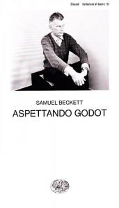 """La copertina italiana di """"Aspettando Godot"""" di Samuel Beckett"""