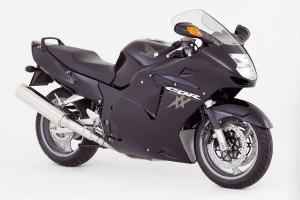 La Honda CBR1100XX Blackbird, ormai fuori produzione