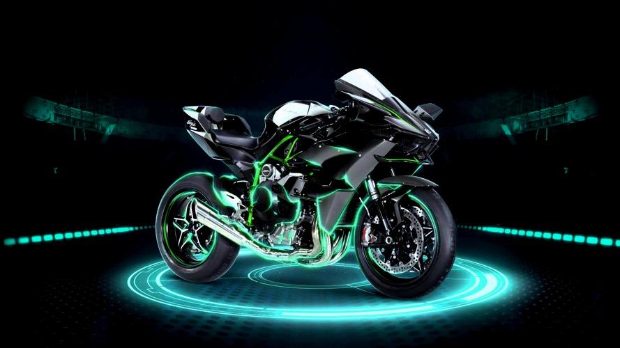 La Kawasaki Ninja H2R è una delle moto più veloci del mondo