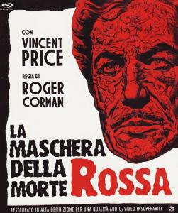 """Il film (di Roger Corman e con Vincent Price) tratto dal racconto """"La maschera della Morte Rossa"""""""
