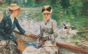 """""""Giorno d'estate"""" di Berthe Morisot, uno dei capolavori di tutti i tempi nel campo della pittura femminile"""