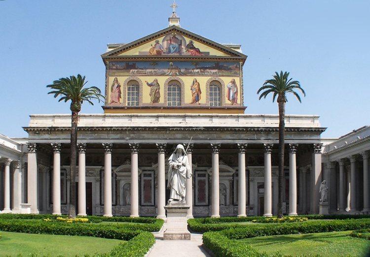 La Basilica di San Paolo Fuori le Mura, a Roma
