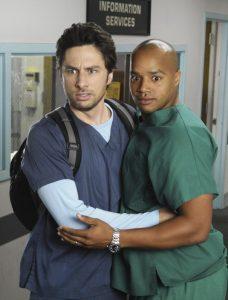 Chris Turk e John Dorian, i due grandi amici al centro della serie