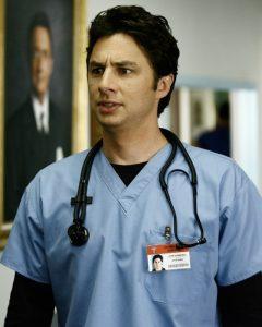 Il protagonista assoluto di Scrubs, John Dorian detto J.D.
