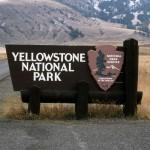 L'ingresso dello Yellowstone National Park, forse il più famoso tra i parchi nazionali americani