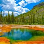 Gli incredibili colori dello Yellowstone