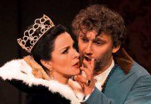 Angela Gheorghiu e Jonas Kauffman nella recente produzione della Tosca