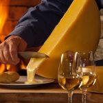 La raclette, col formaggio fuso