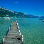 Il bellissimo lago di Annecy