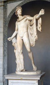 Statua di Apollo ai Musei Vaticani