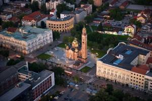 Banja Luka, coi suoi pochi monumenti rimasti in piedi
