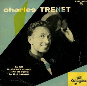 Il disco di Charles Trenet contenente La mer