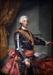 Carlo III, re prima di Napoli e poi di Spagna