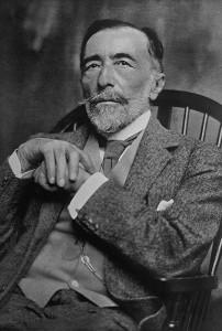Joseph Conrad in vecchiaia