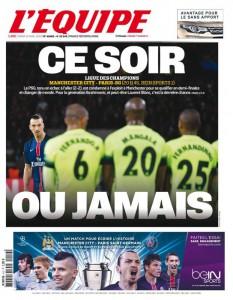 L'Équipe dedica grande spazio al calcio, soprattutto di recente