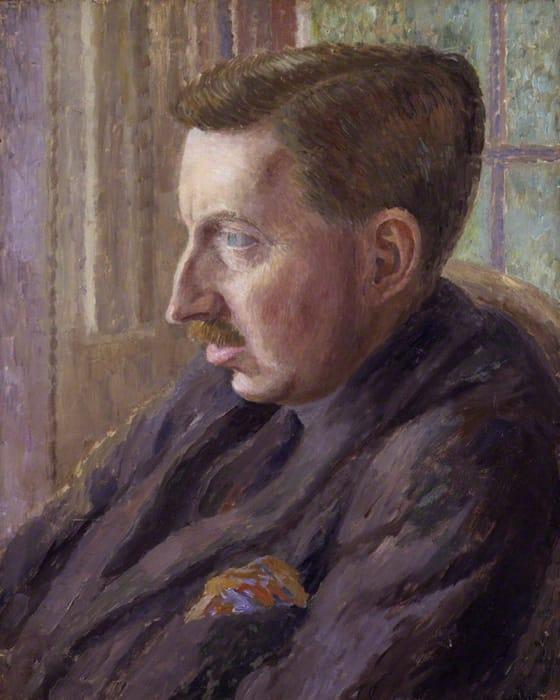 Un ritratto di E.M. Forster realizzato da Dora Carrington