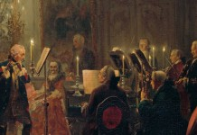 Federico II di Prussia al flauto