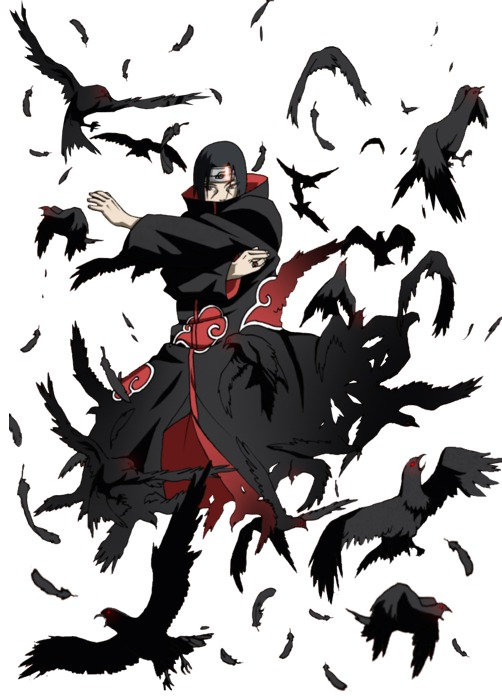 25+ Itachi Uchiha Sharingan Ipnotico Wallpapers